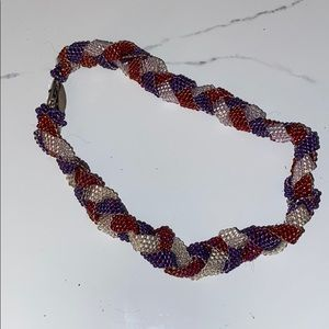 Hand made Sea bead necklace